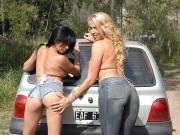 Sandra Storm & Nadine Fox – Fuck My Jeans